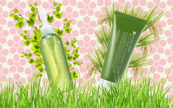 Mizon Real Cleansing Oil and Foam