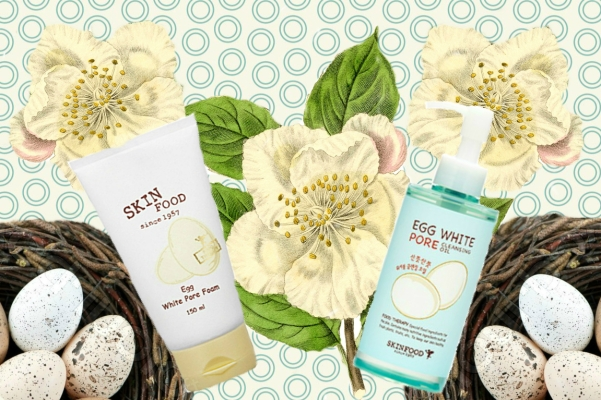 Skinfood Egg White Pore Cleansing Oil Foam