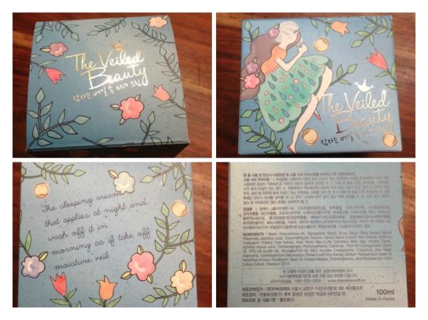 Shara Shara veiled beauty box info